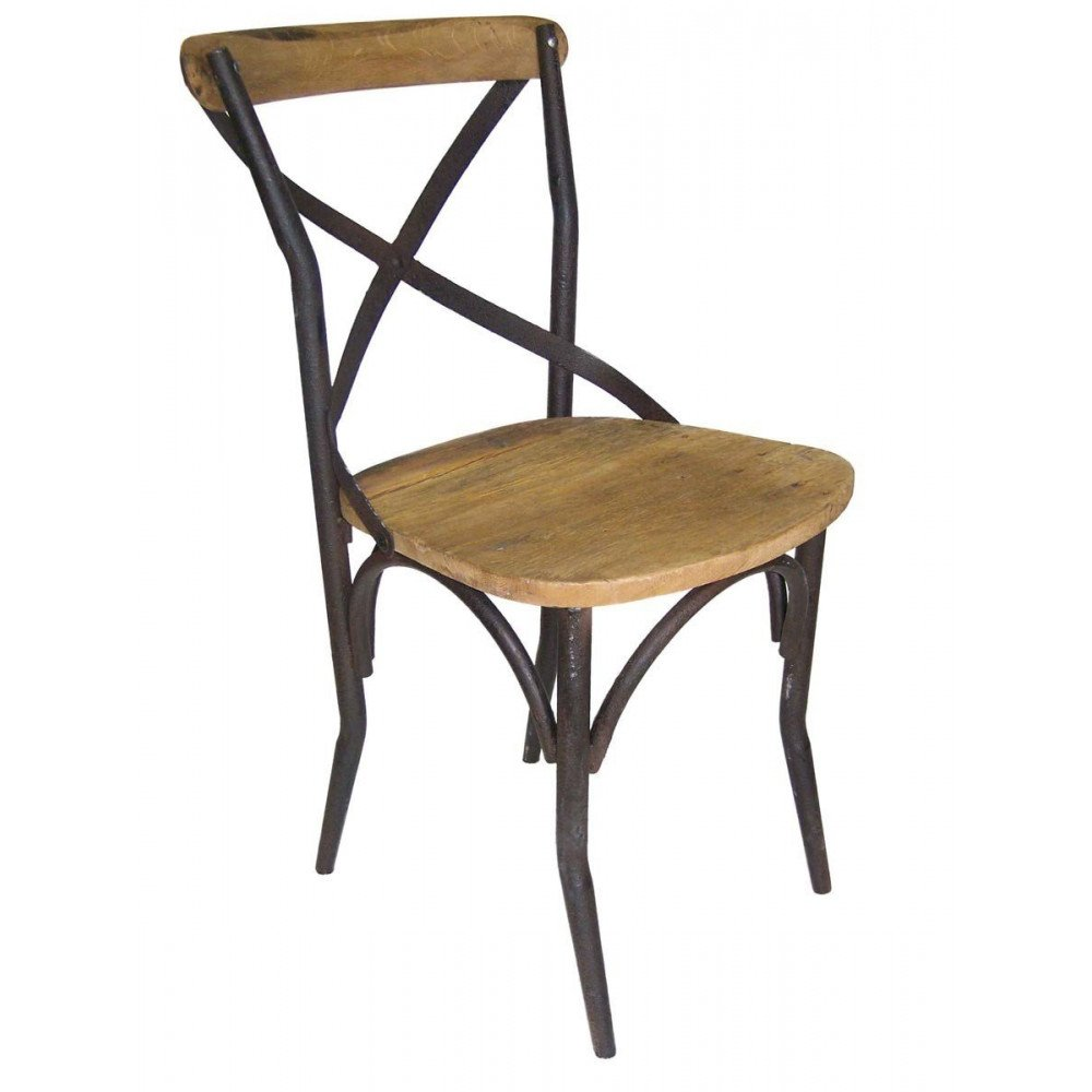Chaise de Bistrot Industrielle | www.cosy-home-design.fr