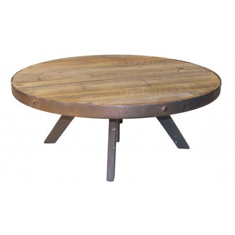 Grande table basse ronde Hygie  | www.cosy-home-design.fr