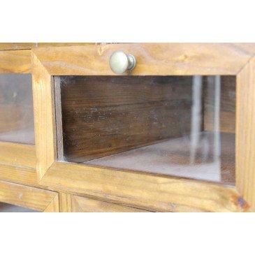Chiffonnier vitré Pencran  | www.cosy-home-design.fr