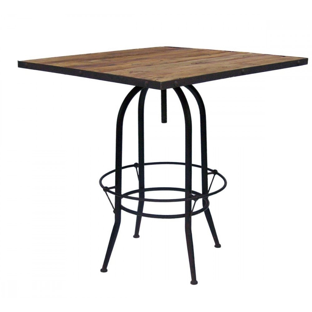 Table de bar Carrée 4 P  | www.cosy-home-design.fr