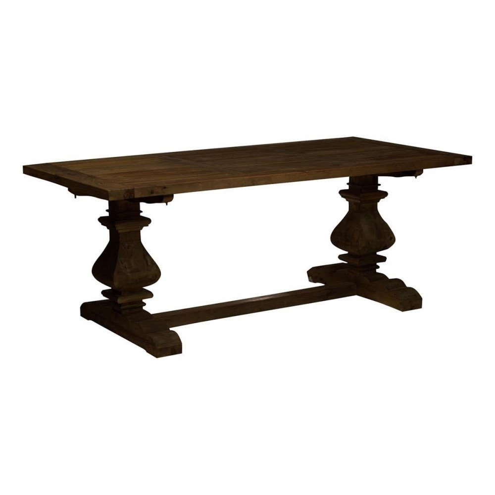 Table Rustique Rectangulaire Lisa   www.cosy-home-design.fr