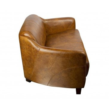 Canapé en cuir Whisky 2 places Milord   www.cosy-home-design.fr