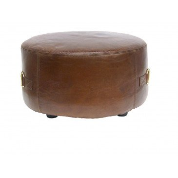 Pouf marron Arthur  | www.cosy-home-design.fr