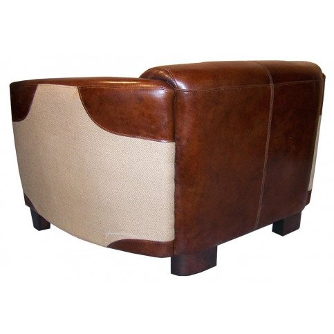 Canapé 2 places marron cuir Bedford    www.cosy-home-design.fr