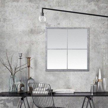 Miroir Marcel Fenêtre Zinc | www.cosy-home-design.fr