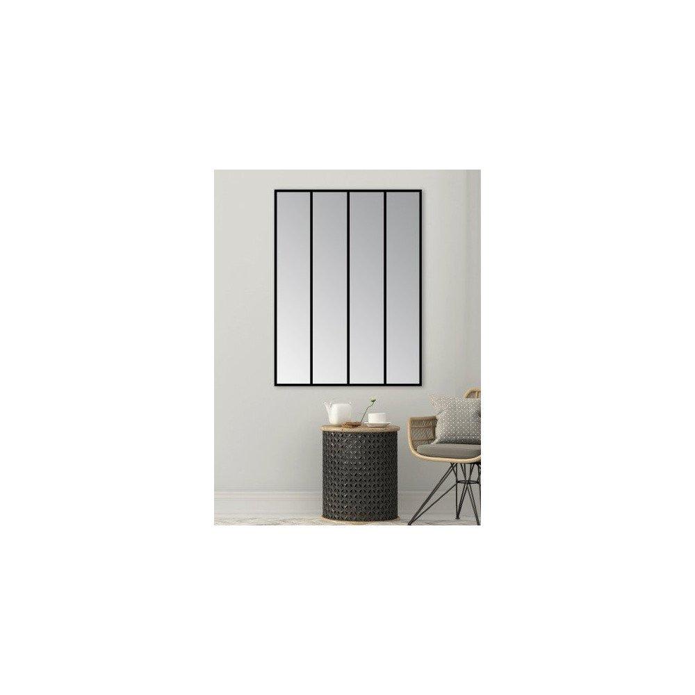 Miroir Lucas 4 Bande Noir | www.cosy-home-design.fr