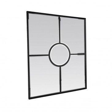 Miroir Fenêtre Noire   www.cosy-home-design.fr