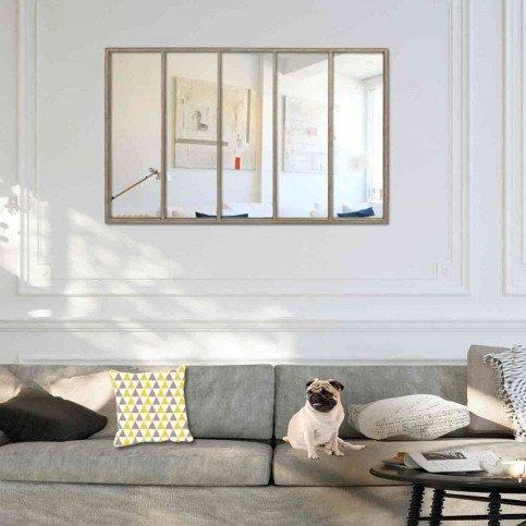 Miroir Jardin Gris Use | www.cosy-home-design.fr