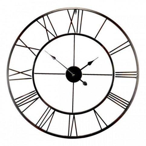 Horloge Métal Noir Ajouré | www.cosy-home-design.fr