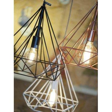 Suspension fer cuivre Anvers  | www.cosy-home-design.fr