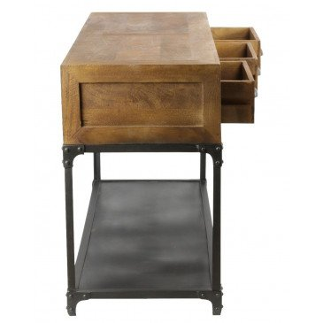Console industrielle Sullivan Light | www.cosy-home-design.fr