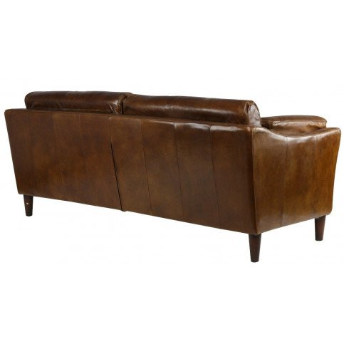 Canapé  cuir marron 2 places Harlow   www.cosy-home-design.fr