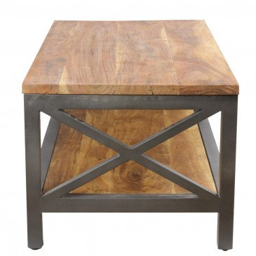 Table basse industrielle Bedford   www.cosy-home-design.fr
