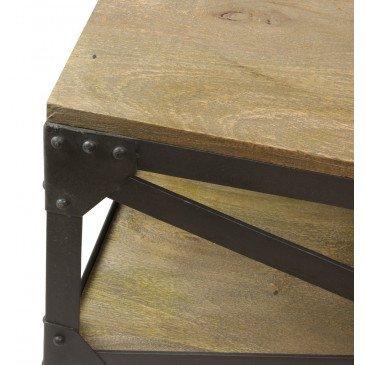 Table basse industrielle Détroit | www.cosy-home-design.fr