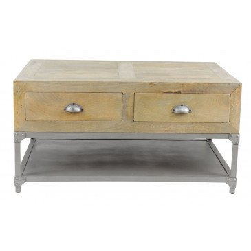 Table basse industrielle Sullivan 100 | www.cosy-home-design.fr