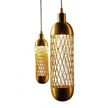 Suspension laiton Granule | www.cosy-home-design.fr