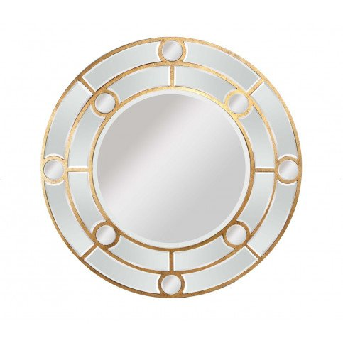 Miroir rond cerclé de bois Eros  | www.cosy-home-design.fr