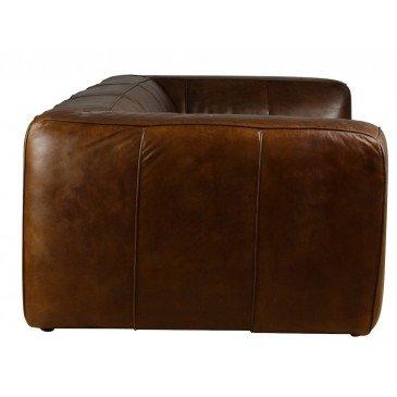 Canapé 4 places en cuir Exeter | www.cosy-home-design.fr