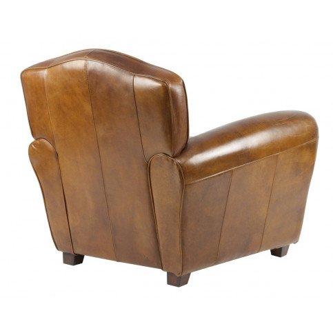 Fauteuil marron cuir Club Edgarton  | www.cosy-home-design.fr