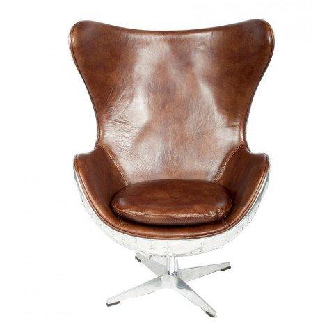 Fauteuil de bureau marron cuir Roma  | www.cosy-home-design.fr