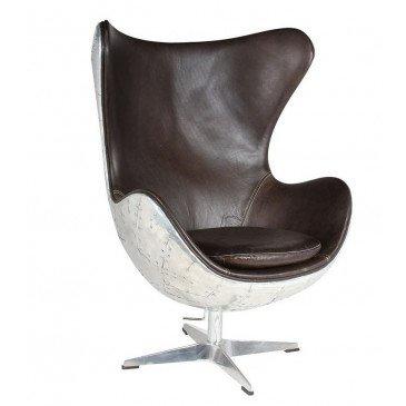 Fauteuil de bureau noir cuir Roma  | www.cosy-home-design.fr