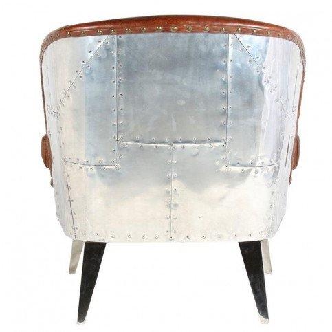 Fauteuil de bureau marron cuir Rocky | www.cosy-home-design.fr