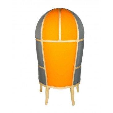 Fauteuil gris et orange Select | www.cosy-home-design.fr