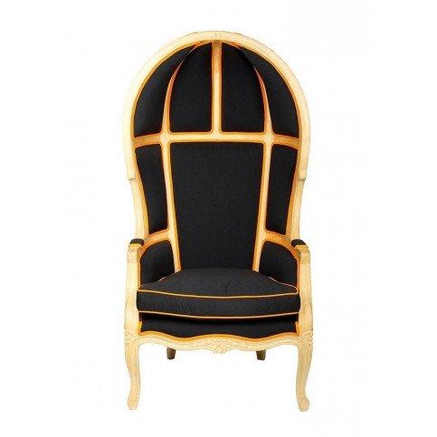 Fauteuil noir et jaune Select | www.cosy-home-design.fr