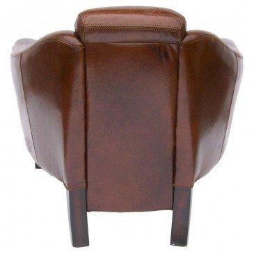Fauteuil marron cuir Eagle    www.cosy-home-design.fr