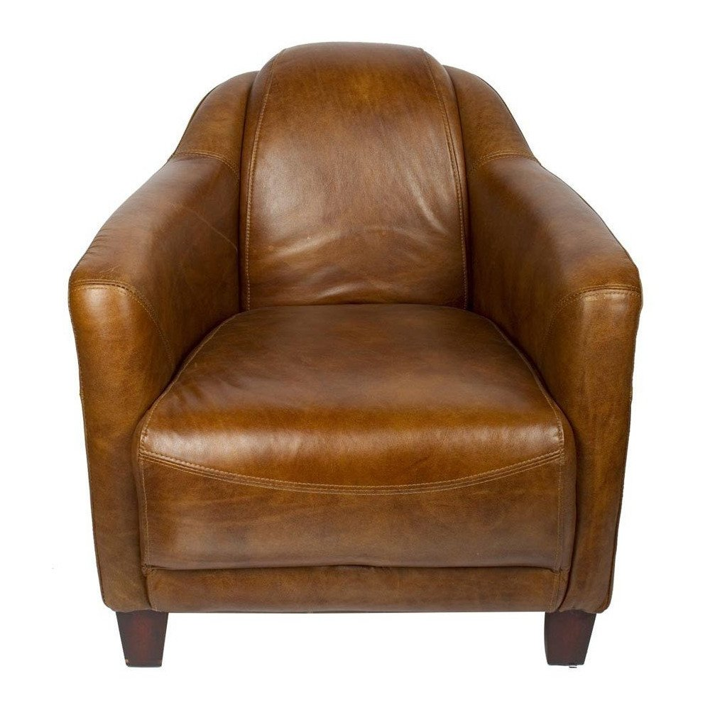 Fauteuil Whisky en cuir Milord | www.cosy-home-design.fr