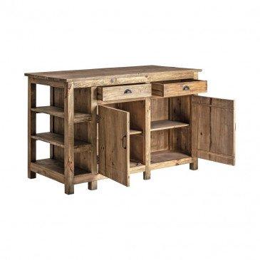 Buffet Industriel en Bois Emillen | www.cosy-home-design.fr