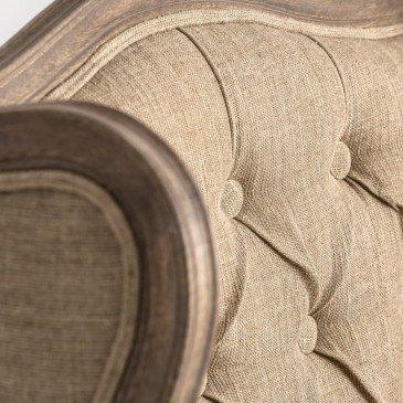 Fauteuil Classique Capitonné Oda | www.cosy-home-design.fr