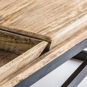 Table basse industrielle Wijy | www.cosy-home-design.fr