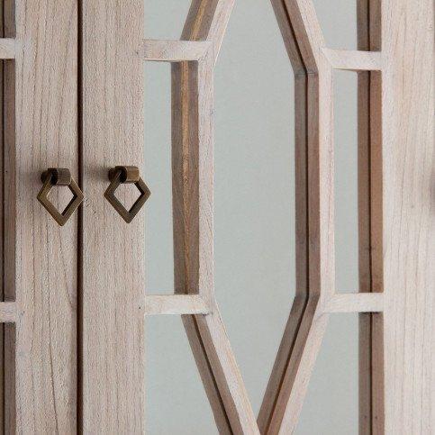 Vitrine bois clair Nima | www.cosy-home-design.fr