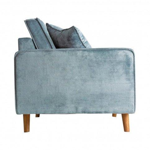 Canapé bleu gris Yannis | www.cosy-home-design.fr