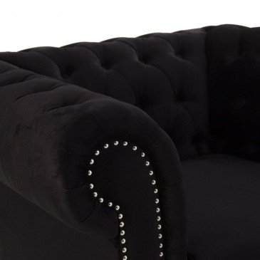 Fauteuil style Chesterfield Eusebio | www.cosy-home-design.fr