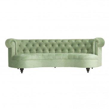 Sofa vert Xabi | www.cosy-home-design.fr