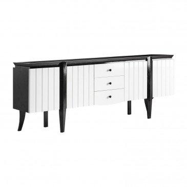 Buffet bois laqué Florival | www.cosy-home-design.fr