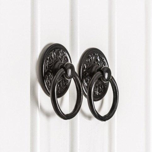 Armoire bois laqué Florival | www.cosy-home-design.fr