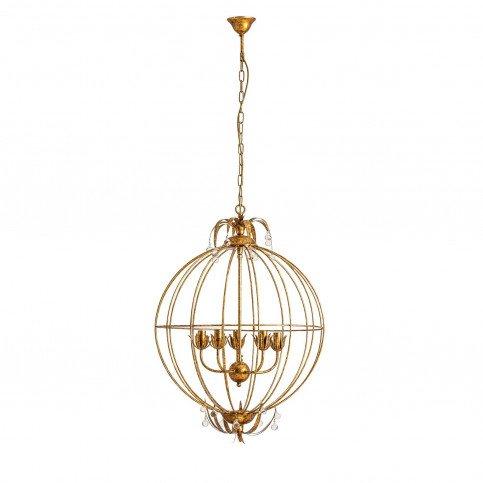Lustre doré Falindar | www.cosy-home-design.fr