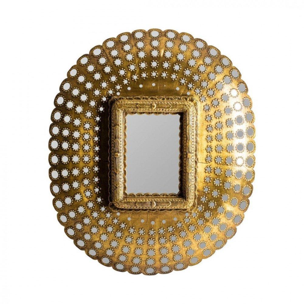 Miroir bois doré Robijin | www.cosy-home-design.fr