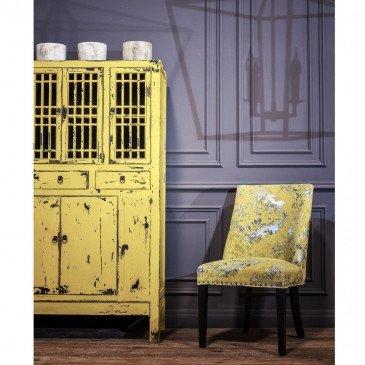 Vitrine moutarde Wana | www.cosy-home-design.fr