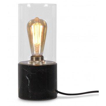 Lampe en Verre et marbre Olympe  | www.cosy-home-design.fr