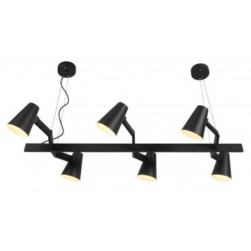 Suspension en Fer Noir BIARRITZ  | www.cosy-home-design.fr