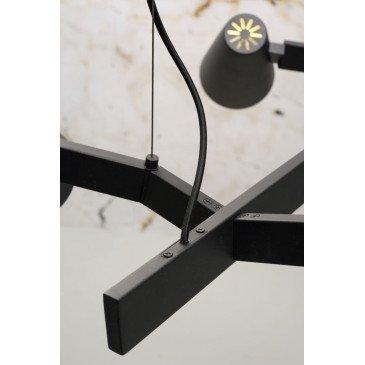 Suspension en Fer Noir BIARRITZ  | www.cosy-home-design.fr