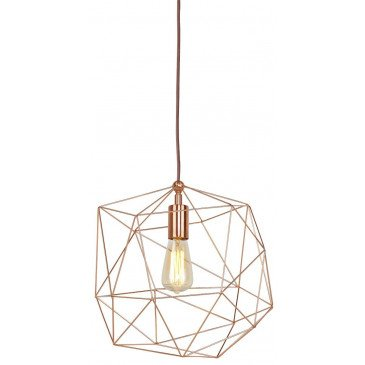 Suspension en Fer Cuivre COPENHAGEN  | www.cosy-home-design.fr