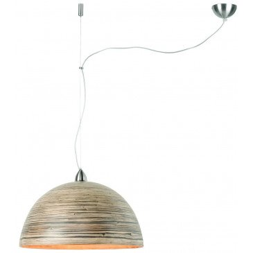 Suspension en Bambou Naturel foncé Solo HALONG  | www.cosy-home-design.fr