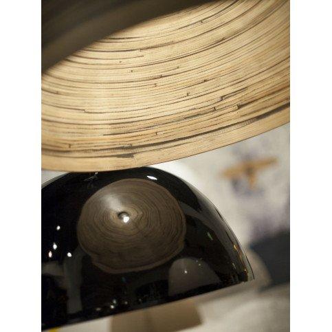 Suspension en Bambou Naturel foncé Solo HALONG  | www.cosy-home-design.fr