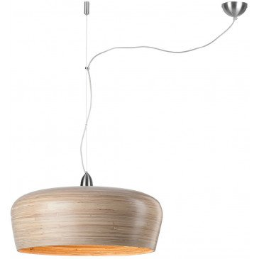 Suspension en Bambou Naturel Solo HANOI  | www.cosy-home-design.fr