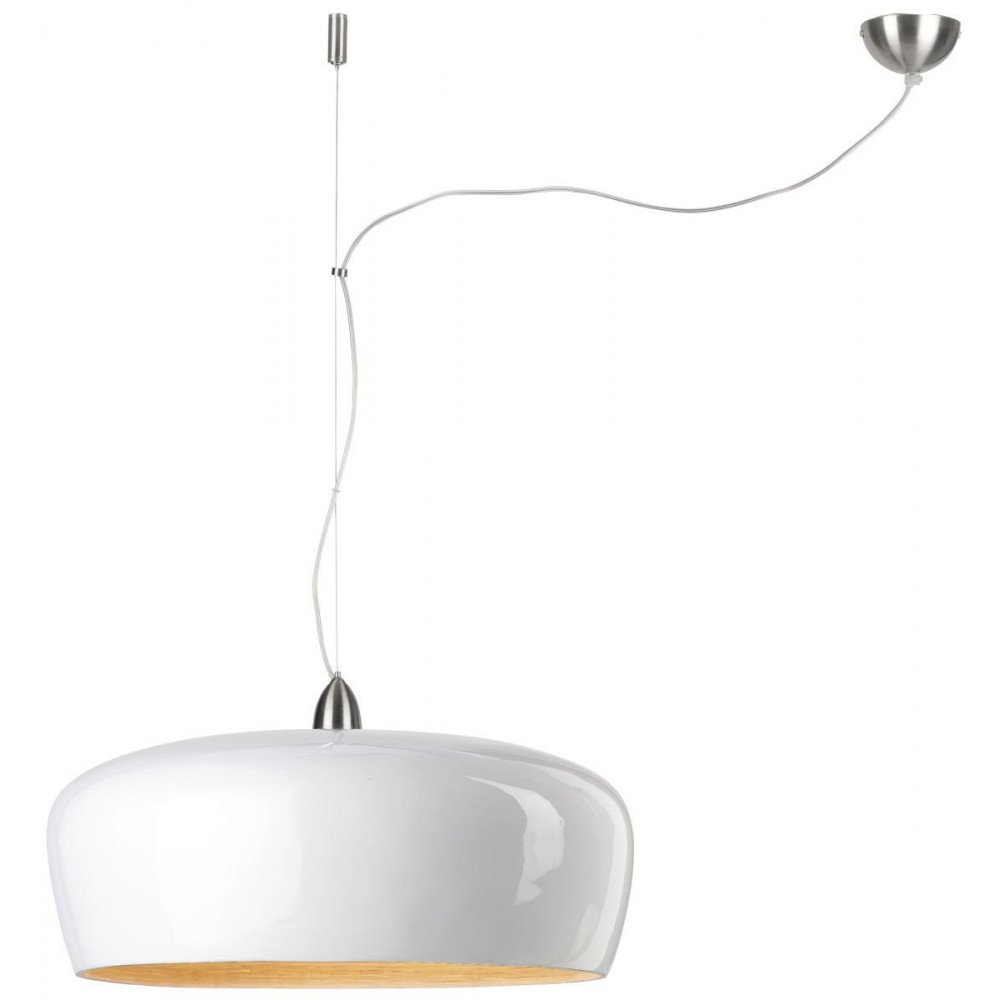 Suspension en Bambou Blanc Solo HANOI  | www.cosy-home-design.fr